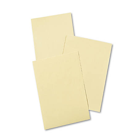 "Pacon® Manila Drawing Paper, 12"" x 18"", 40 Lb, Cream, Pack Of 500"