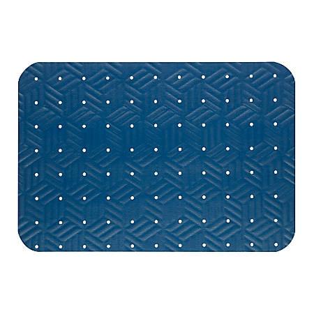 """M + A Matting Wet Step Antifatigue Floor Mat, 24"""" x 36"""", Blue"""