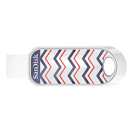Sandisk Cruzer Snap USB Flash Drive, 32GB, Multicolor