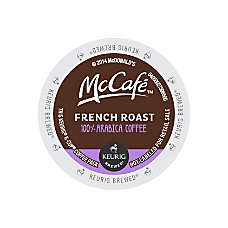 McCafe French Roast K Cup Pods