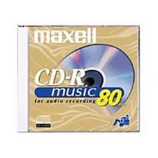 Maxell 40x Music CD R Media