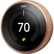 Nest Learning Thermostat 3rd Generation Copper