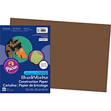 SunWorks Groundwood Construction Paper 12 x