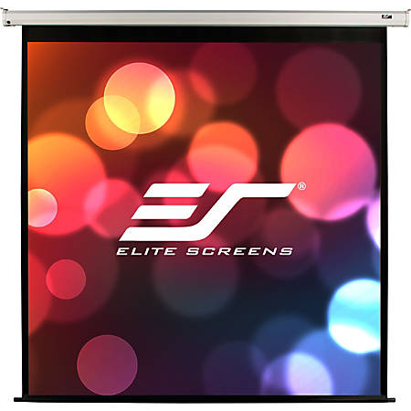 Elite Screens VMAX2 - 150-inch 4:3, Wall Ceiling Electric Motorized Drop Down HD Projection Projector Screen, VMAX150XWV2""