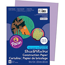 Pacon SunWorks Construction Paper 12 x