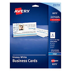 Avery Print to the Edge Inkjet