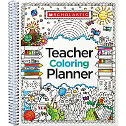 Teachers Friend Coloring Planner 9 x