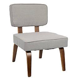 LumiSource Nunzio Chair GrayWalnut
