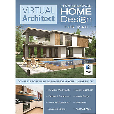 virtual architect home design for mac professional download version office depot. Black Bedroom Furniture Sets. Home Design Ideas