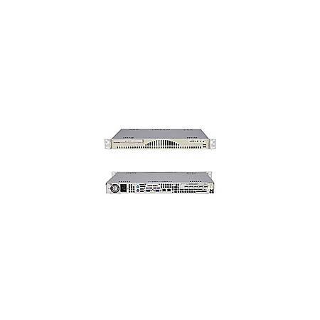 Supermicro A+ Server 1011S-MR2 Barebone System - ServerWorks HT1000 - Socket 940 - Opteron (Dual-core) - 800MHz Bus Speed - 8GB Memory Support - CD-Reader (CD-ROM) - Gigabit Ethernet - 1U Rack