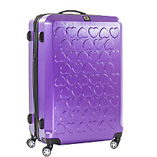 ful Hearts Upright Rolling Suitcase 29