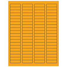 Office Depot Brand Labels LL170OR Rectangle