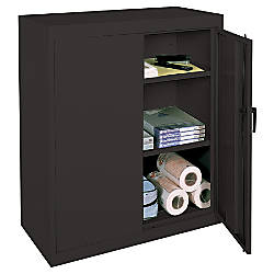 Realspace 42 Steel Storage Cabinet With