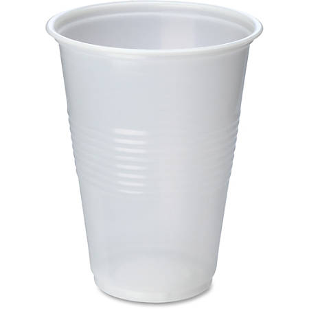 Genuine Joe Translucent Beverage Cup - 16 fl oz - 1000 / Carton - Translucent, Clear - Beverage