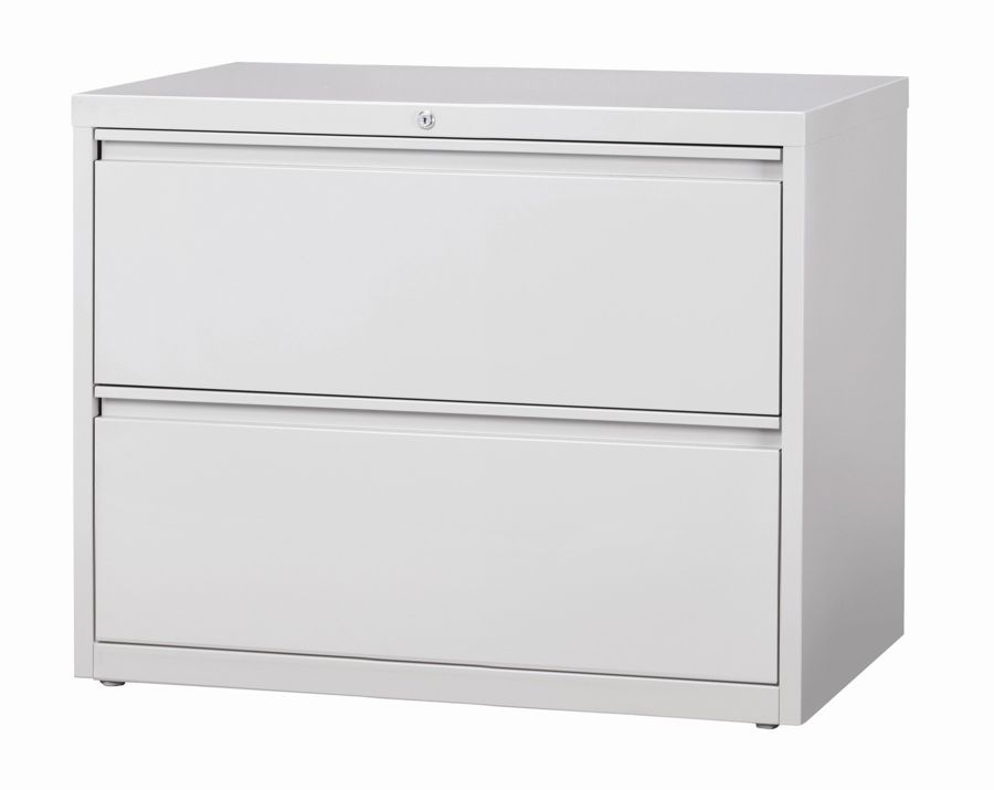 Beau WorkPro 36 W 2 Drawer Steel Lateral File Cabinet Light Gray By Office Depot  U0026 OfficeMax