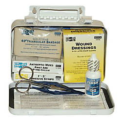 10 PERSON STEEL WEATHERPROOF FIRST AID