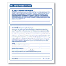 ComplyRight FMLA Medical Certification Forms Family