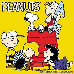 Day Dream Peanuts Monthly Wall Calendar