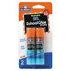 Elmers Gel Glue Sticks Pack Of