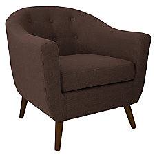 Lumisource Accent Chair Rockwell EspressoBrown