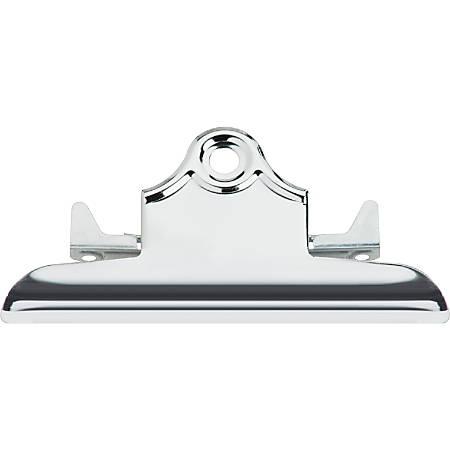 "Sparco Clipboard Metal Clip, 6"" W, Silver"