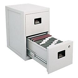 Sentrysafe Fire Safe 2 Drawer Vertical File Cabinet 28 H