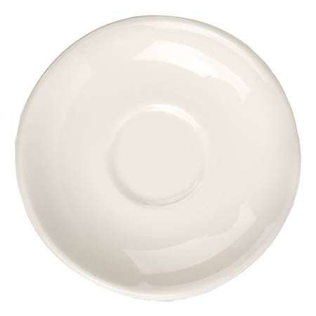 "QM Anchor Boston Saucers, 6"", White, Pack Of 36 Saucers"