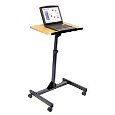 H Wilson Portable Adjustable Height Lectern