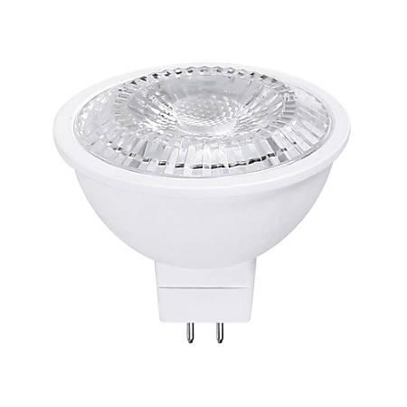 Euri EM16 3000 Series MR16 LED Flood Bulb, Dimmable, 500 Lumens, 6.5 Watt, 3000K/Warm White, Pack Of 6 Bulbs