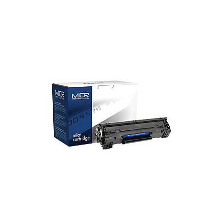 MICR Print Solutions MCR36AM (HP CB436A) Black MICR Toner Cartridge