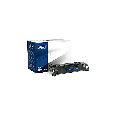 MICR Print Solutions MCR05XM Remanufactured High-Yield MICR Toner Cartridge Replacement For HP CE505X Black