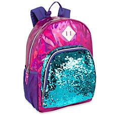 Trailmaker Sequin Hologram Backpack Pink