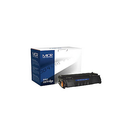 MICR Print Solutions MCR49AM (HP Q5949A) Black MICR Toner Cartridge
