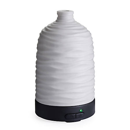 """Airome Ultrasonic Essential Oil Diffusers, 6-1/4"""" x 3-3/4"""", Harmony, Case Of 6 Diffusers"""