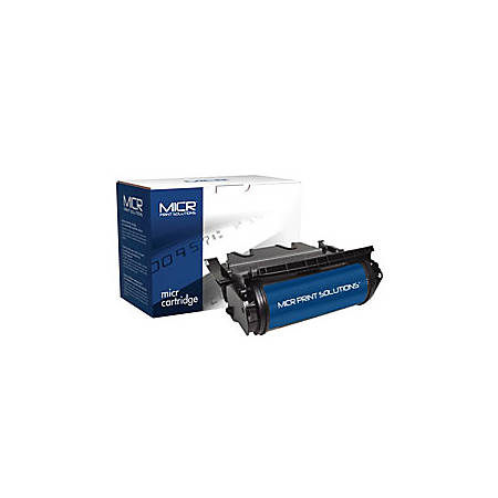 MICR Print Solutions MCR630M (Lexmark 12A7462) High-Yield Black MICR Toner Cartridge