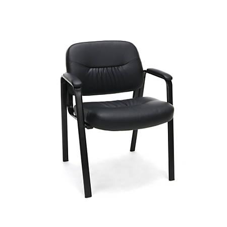OFM Essentials Side Chair, Black