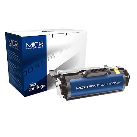 MICR Print Solutions MCR650M (Lexmark T650H21A) Remanufactured Black MICR Toner Cartridge