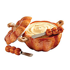 Orbit Pumpkin Shaped Dip Server 9