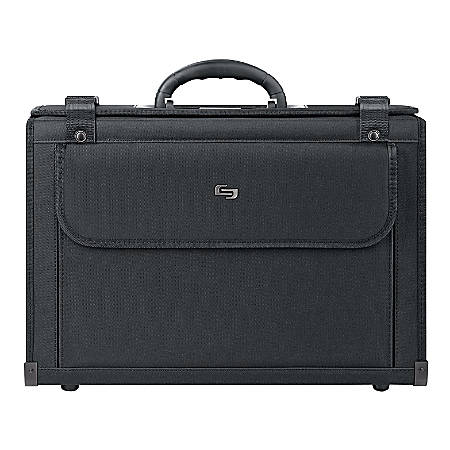 "Solo Classic Catalog Case For 16"" Laptops, Black"