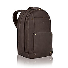 Solo Vintage Classic Leather Laptop Backpack