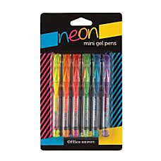 Office Depot Brand Mini Gel Ballpoint