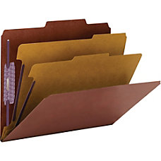 Smead PressGuard Classification Folders with SafeSHIELD