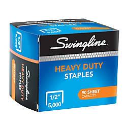 Swingline Heavy Duty Staples 12 Box