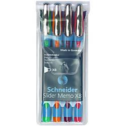 Schneider Slider Memo XB Ballpoint Pens