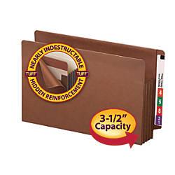 Smead TUFF Pocket End Tab File