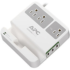 APC 3 Outlet SurgeArrest Essential Surge