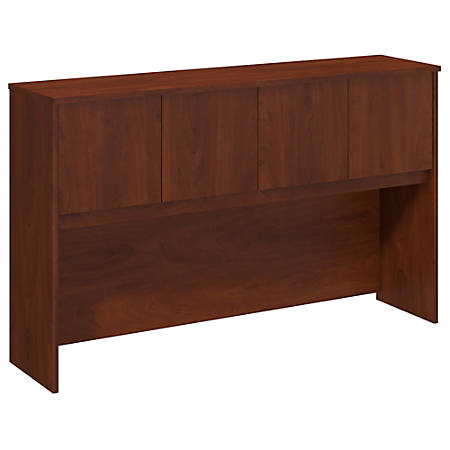 "Bush Business Furniture Components Elite Hutch 60""W, Hansen Cherry, Premium Installation"