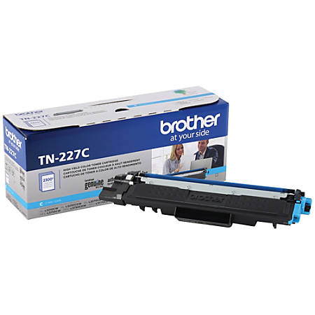 Brother TN-227C High-Yield Cyan Toner Cartridge