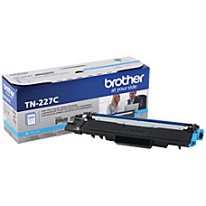 Brother TN 227C High Yield Cyan
