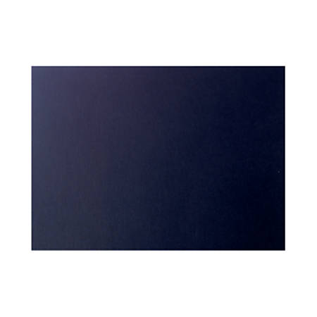 """LUX Flat Cards, A6, 4 5/8"""" x 6 1/4"""", Black Satin, Pack Of 50"""
